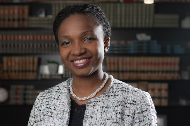 photo of ayana pennant mcadam, student-at-law