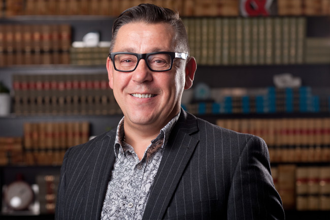 Edmonton lawyer David van Leenen, a Managing Partner with the law firm Sharek & Co, where he specializes in legal services for the real estate and construction industry, representing both buyers and sellers.